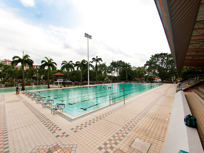 Clementi swimming lesson